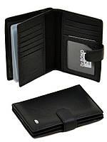 Кожаный мужской портмоне для визиток документов (правник) Dr Bond. Портмоне из натуральной кожи