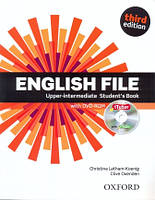 Учебник по английскому языку English File 3rd Edition Upper-Intermediate Student's Book and iTutor DVD