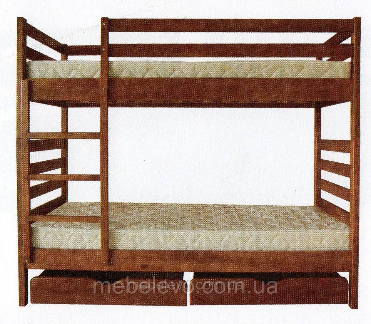 Двухъярусная кровать Трансформер 1 80х190 ТИС 1700х880х1985мм