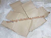 Коврики в салон полиуретановые NorPlast 4шт. для Hyundai Santa Fe 2010-2013 бежевые