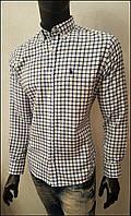 Tommy Hilfiger рубашка мужская клетчатая с длинным рукавом