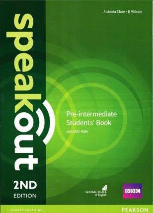 Учебник Speakout 2nd Pre-Intermediate SB+DVD, фото 2