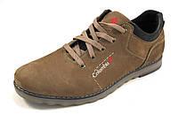 Туфли мужские  COLUMBIA кожаные, коричневые (коламбия)р.40,41,43,44,45