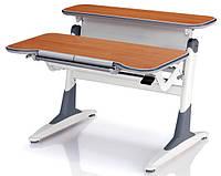 Комплект мебели: стол ТН-333 «Сохо» темная ольха + кресло KY-618 черные жуки