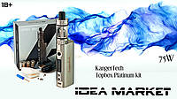 Электронная сигарета Kanger topbox mini(75W)TC platinum starter kit