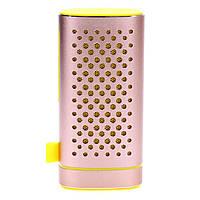 Внешний аккумулятор Z6, (4000mAh), колонка Bluetooth Z6, 2 в 1 (розовое золото)