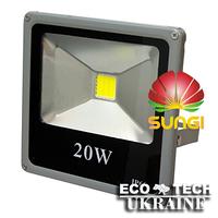 Прожектор светодиодный уличный SUNGI 20 Вт IP66