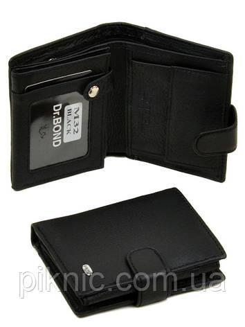 Кожаный мужской кошелек, портмоне Dr Bond, блок для водительских документов. (натуральная кожа), фото 2