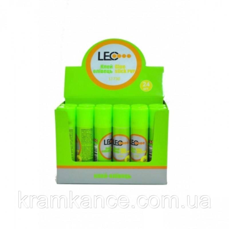 Клей-карандаш LEO 36гр L-1732