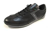 Туфли мужские TOMMY HILFIGER кожаные, черные р.41