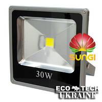 Прожектор светодиодный уличный SUNGI 30 Вт IP66