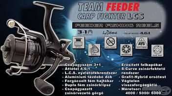 BY DÖME TEAM FEEDER CARP FIGHTER LCS