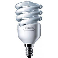 Лампа энергосберегающая Philips E14 12W 220-240V WW 1CT/12 TornadoT2 8y