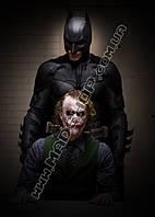 Картина 40х60 см Бэтмен и Джокер