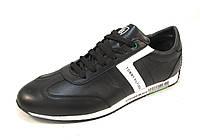 Туфли мужские TOMMY HILFIGER кожаные, черные р.40,41,42,44