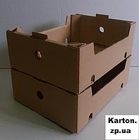 Ящик гофрокартон для черешни