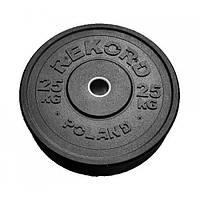 Бамперный диск Rekord 25 кг (BP-25)