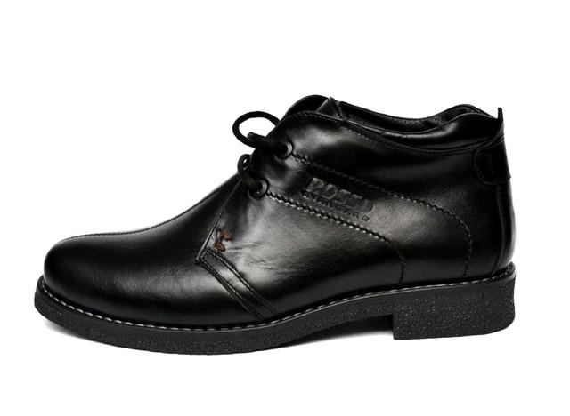 Классические зимние мужские ботинки Rosso Avangard. Carlo Pa черные