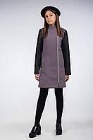 Демисезонное, кашемировое пальто для девочки-подростка К-114