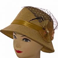 Летняя женская шляпка