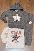Весенние трикотажные,спортивные костюмы тройки для девочек.Размеры 98-128 см.Фирма TAURUS.Венгрия