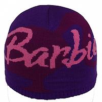 Детская вязаная стильная шапка