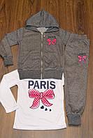 Весенние трикотажные,спортивные костюмы тройки для девочек.Размеры 116-146 см.Фирма TAURUS.Венгрия