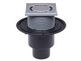 HL310NPr Трап для внутренних помещений DN50/75/110 вертикальный с запахозапирающим устройством Primus