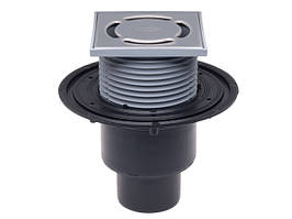 Трап Hutterer & Lechner для внутренних помещений DN50/75/110 вертикальный с запахозапирающим устройством Primus HL310NPr