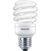Лампа энергосберегающая Philips E27 12W 220-240V WW 1PF/6 Econ Twister