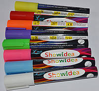 Маркер для меловой доски на водной основе разные цвета.