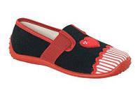 Тапочки текстильные для девочки  Zetpol Ягода (25-36)