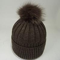 Стильная шапка зимняя для подростка