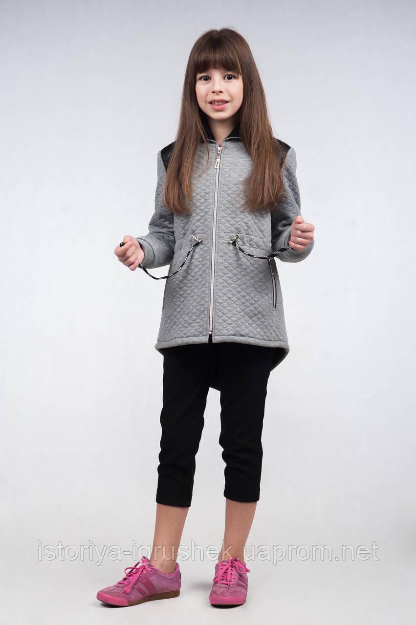 Куртка-парка демисезонная для девочки К-110
