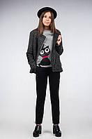 Полупальто-куртка для девочки демисезонная К-109