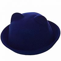 Теплая зимняя шляпка женская
