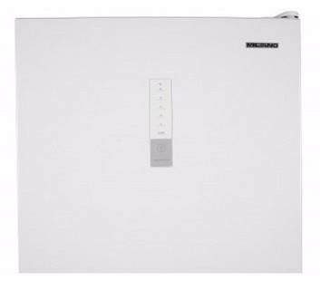 Холодильник MILANO DF 395 NM White нижняя морозильная камера, фото 2