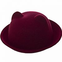 Зимняя шляпка зима 2017