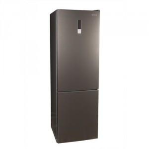 Холодильник MILANO DF 395 NM Silver нижняя морозильная камера
