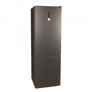 Холодильник MILANO DF 395 NM Silver нижняя морозильная камера, фото 2