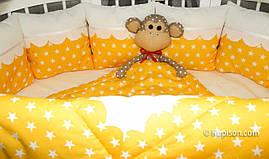 """Солнечный комплект постельного белья для новорожденного ТМ """"Куписон"""""""