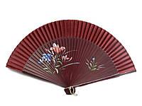 Веер для девушки бамбуковый