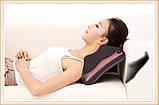 Массажная подушка для спины и шеи Massage pillow MJY-818 (автомобильная подушка), фото 4