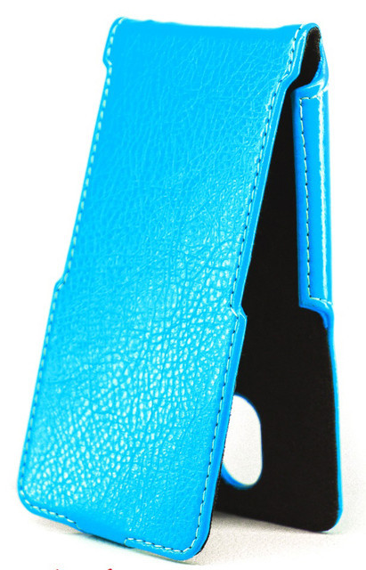 Чехол Status Flip для ASUS Zenfone 2 Laser ZE550KL Blue