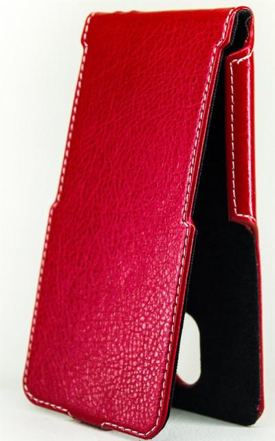 Чехол Status Flip для HTC Desire 10 Pro  Red