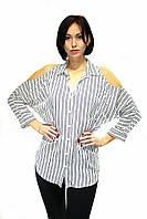 Рубашка с вырезами на плечах