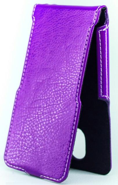 Чехол Status Flip для HTC Desire 601 Purple