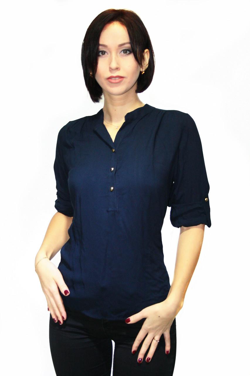 Блуза Oscar FurБ-7  Темно-синий