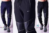 Мужские спортивные штаны с латками мод.0345 (р.46-56)