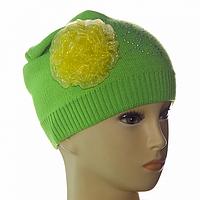 Детская теплая шапка мода 2017